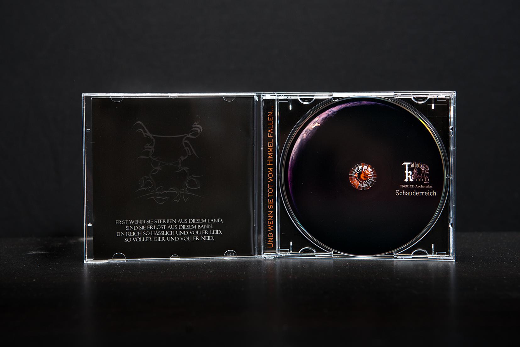 Aschenglas - Schauderreich CD Jewel-Case