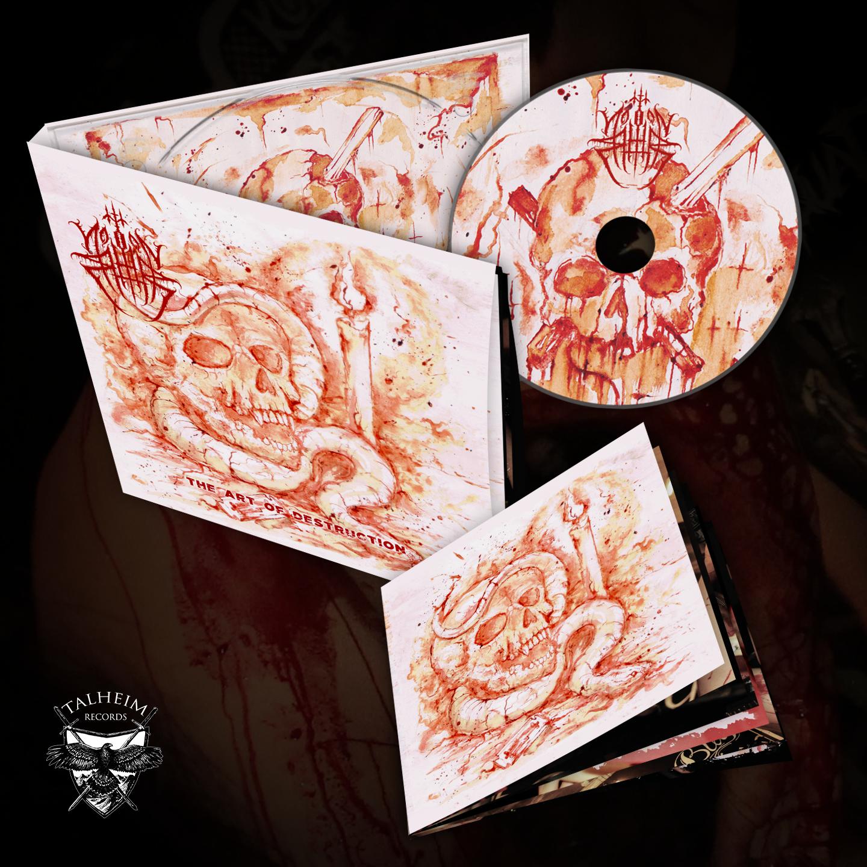 Northorn - The Art Of Destruction CD Digipak