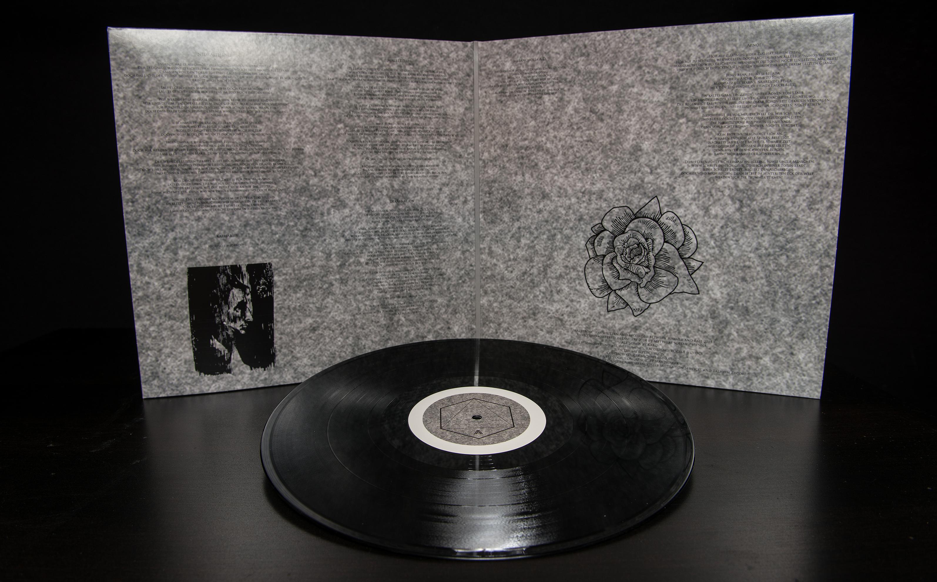 Karg - Malstrom LP Gatefold Black