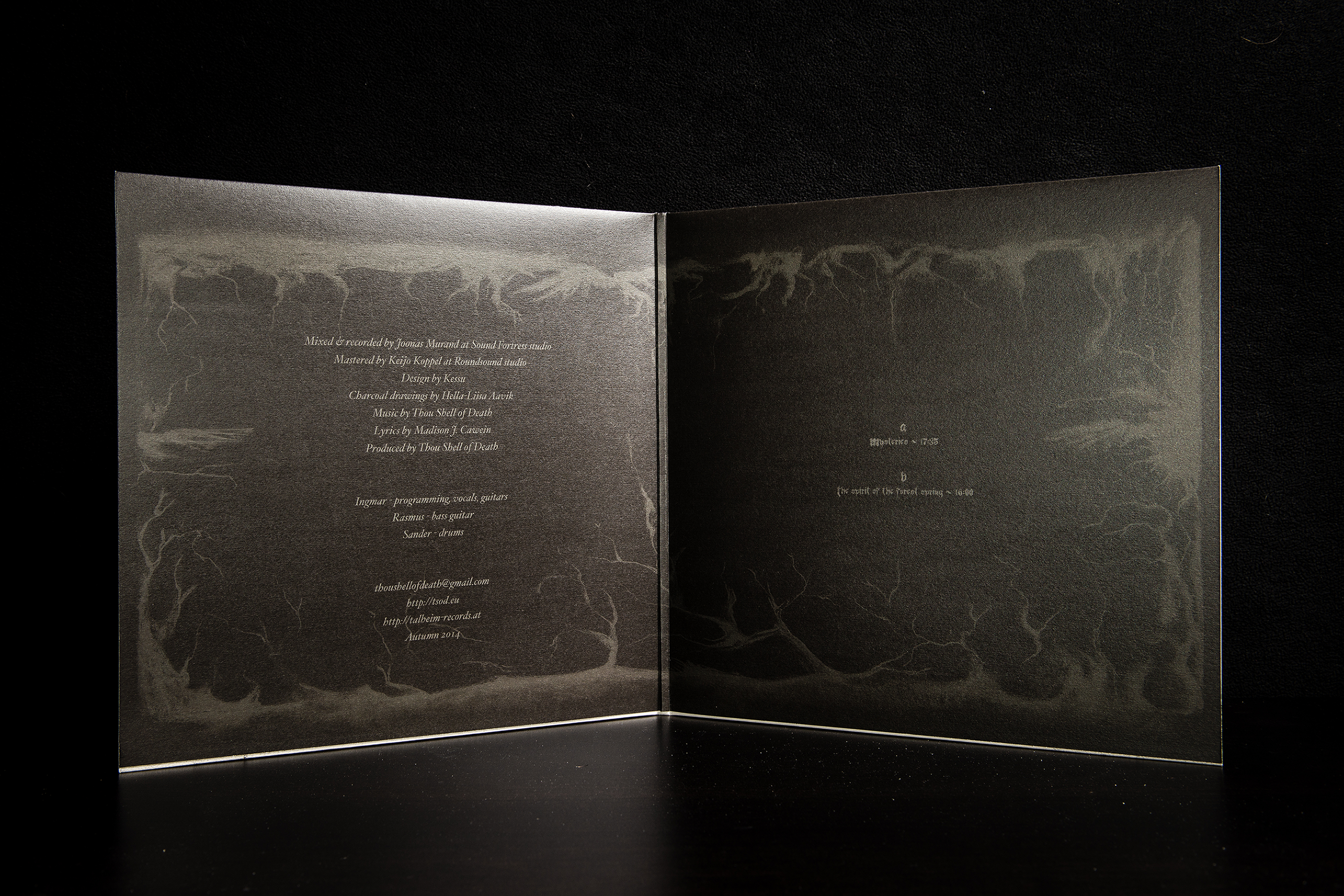 Thou Shell Of Death - Cave Hill LP Gatefold White