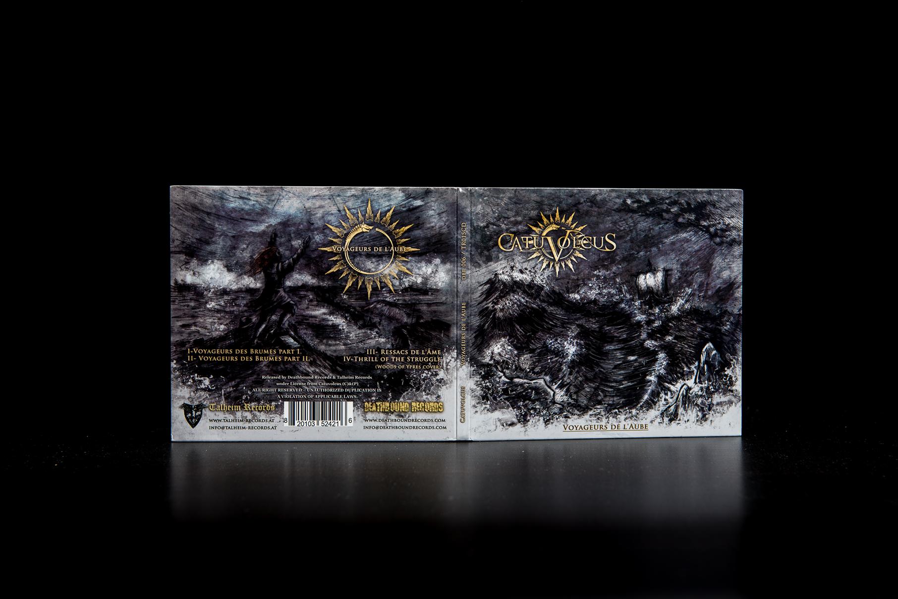 Catuvolcus - Voyageurs de l'Aube CD Digipack