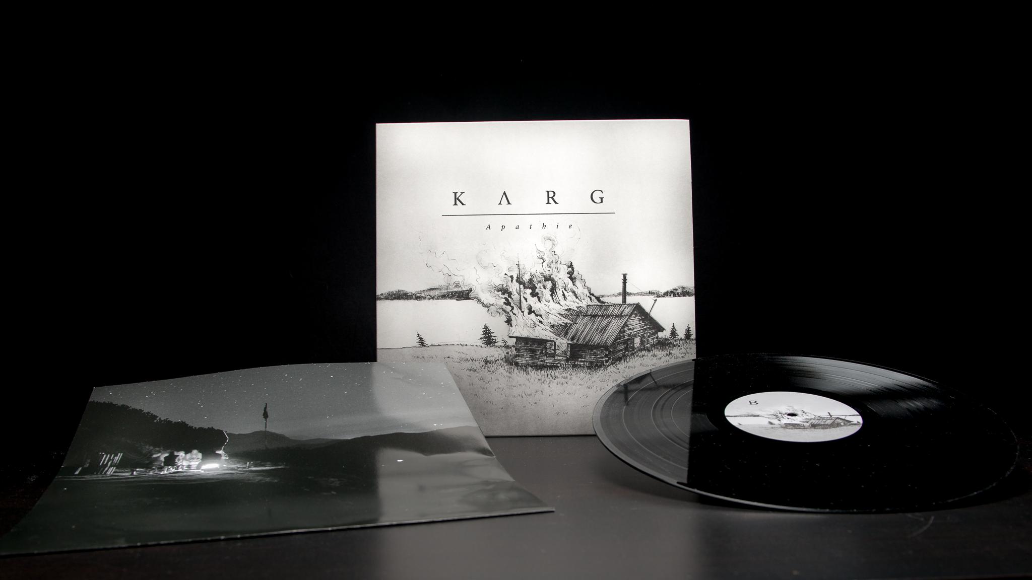 Karg - Apathie LP Sleve