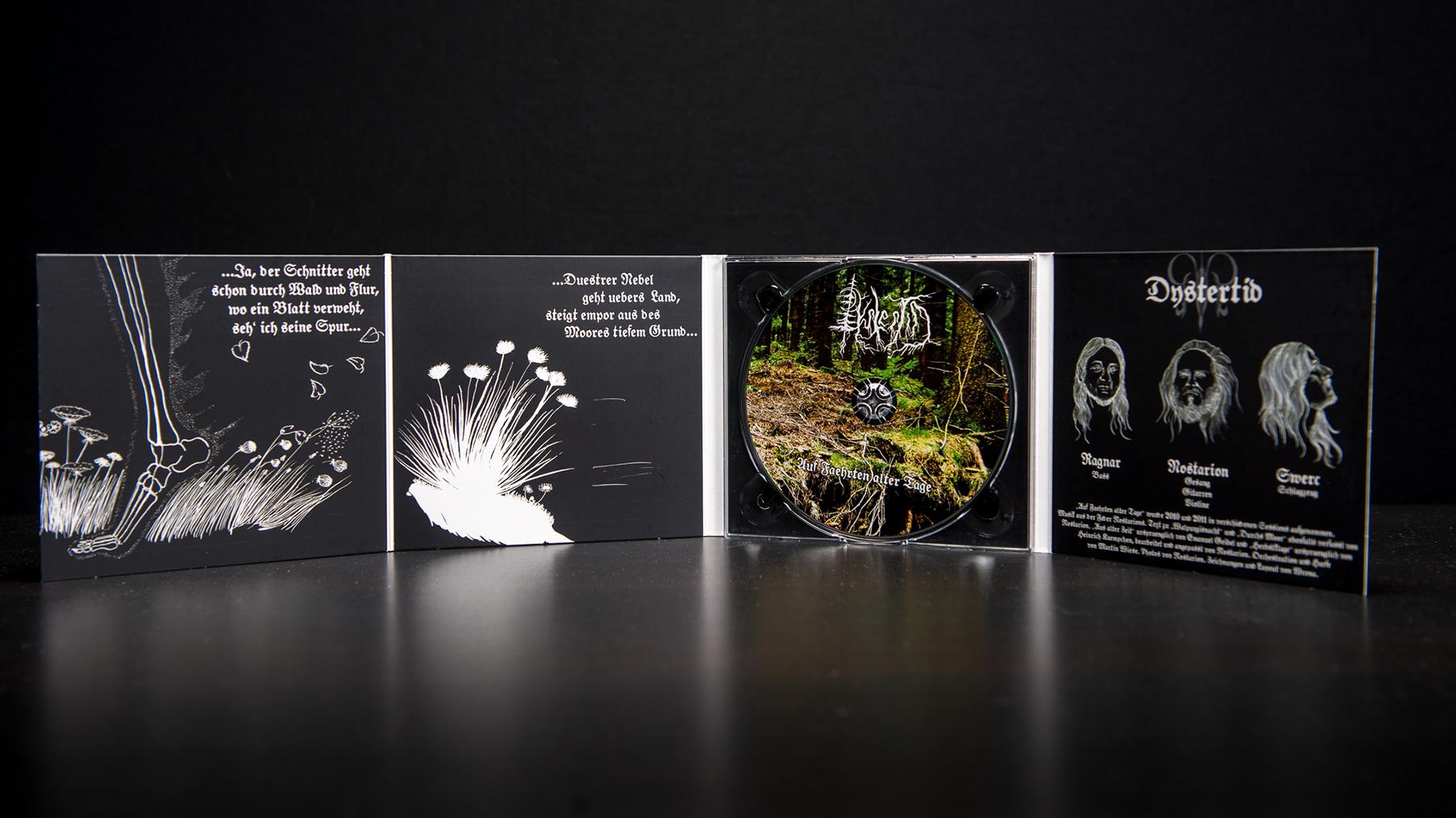 Dystertid - Auf Faehrten alter Tage CD Digipack