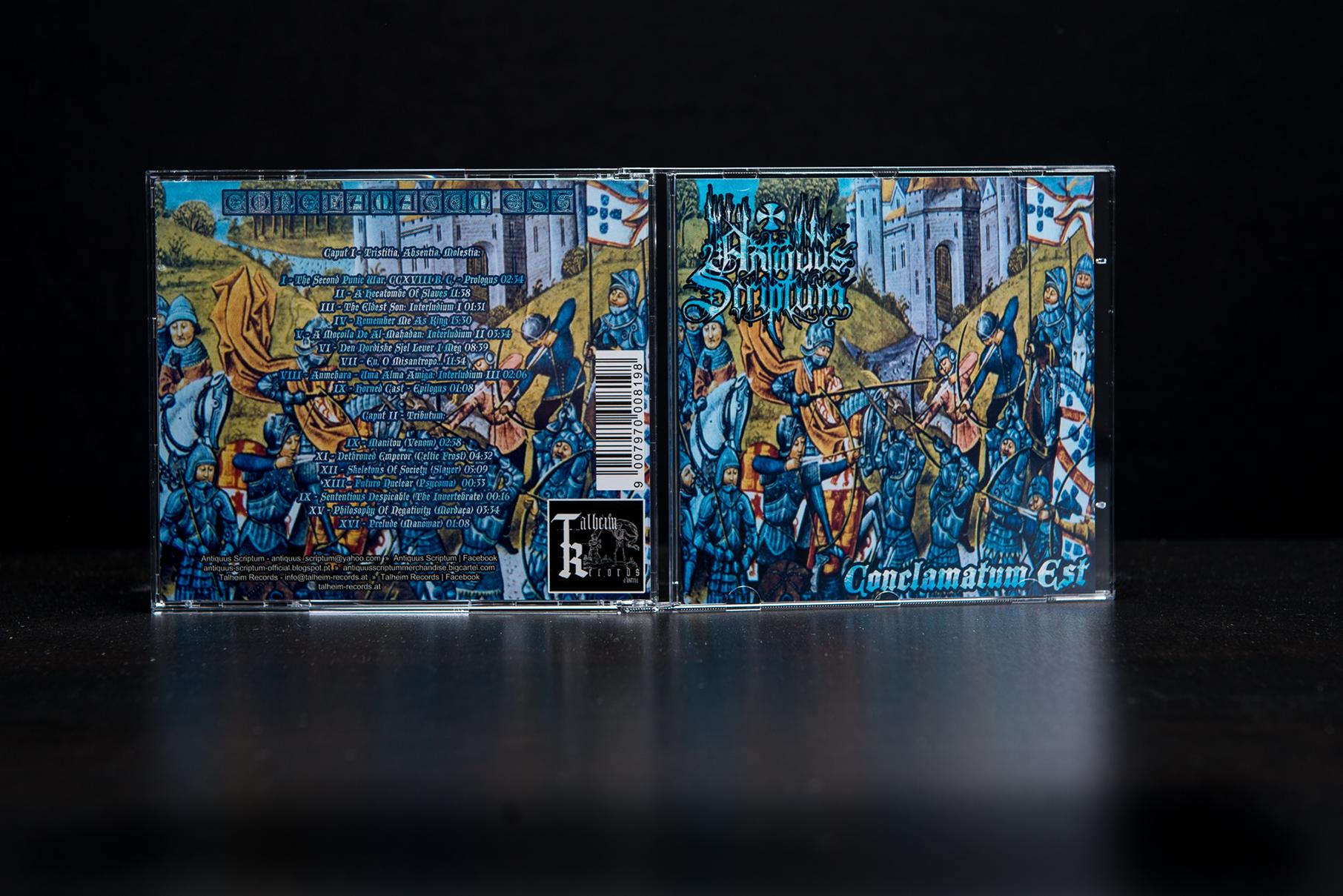 Antiquus Scriptum - Conclamatum Est CD Jewel-Case