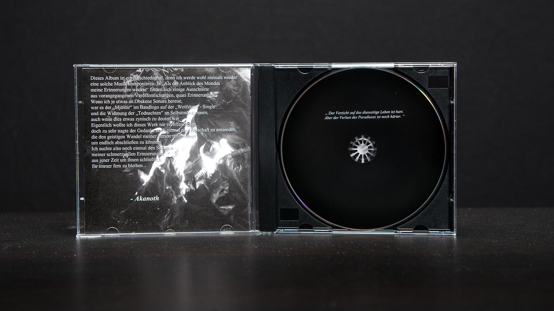 Obskene Sonare - Der letzte weiße Hirsch CD Jewel-Case