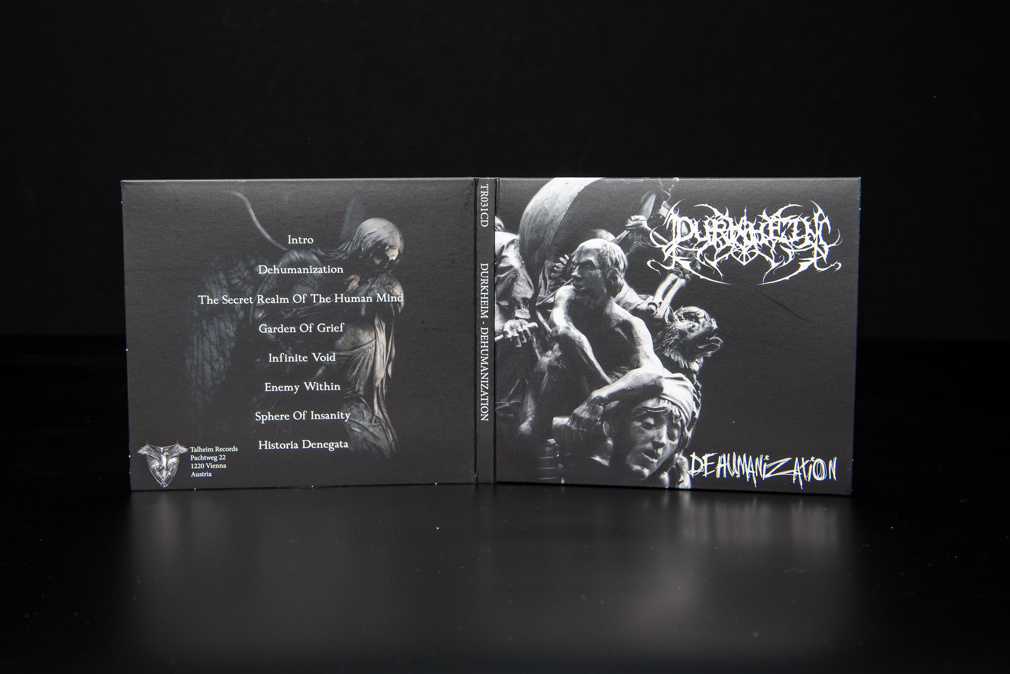 Durkheim - Dehumanization CD Digipack