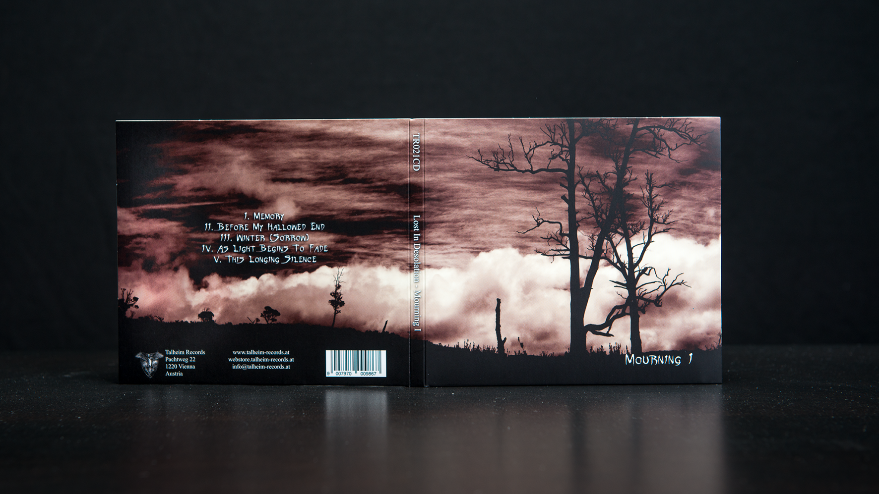 Lost In Desolation - Mourning I CD Digipack