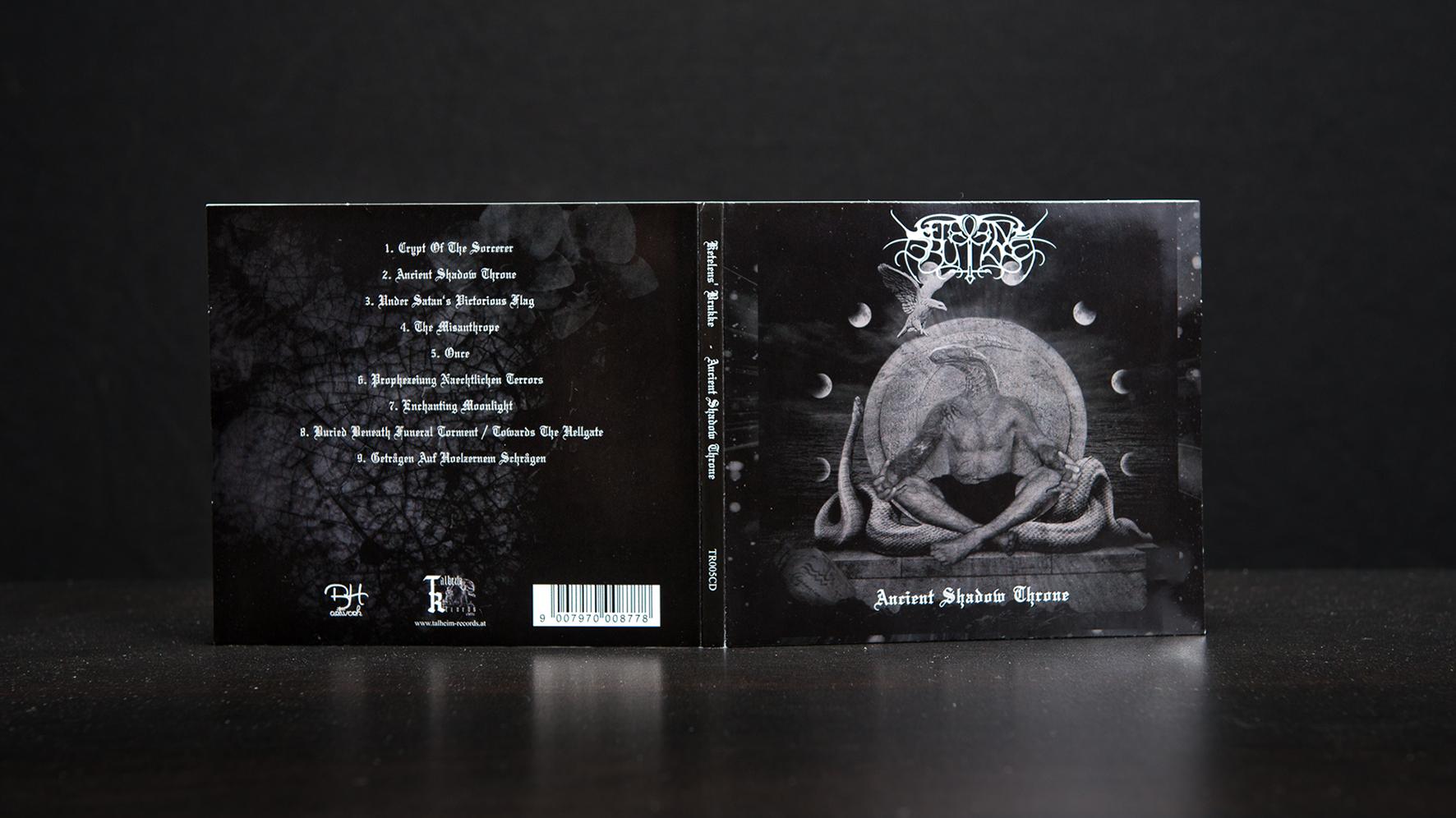 Ketelens' Brukke - Ancient Shadow Throne CD Digipack