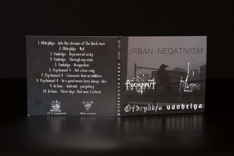 Psychonaut 4 / In Luna / Ofdrykkja / Vanhelga - Urban Negativism CD Digipack