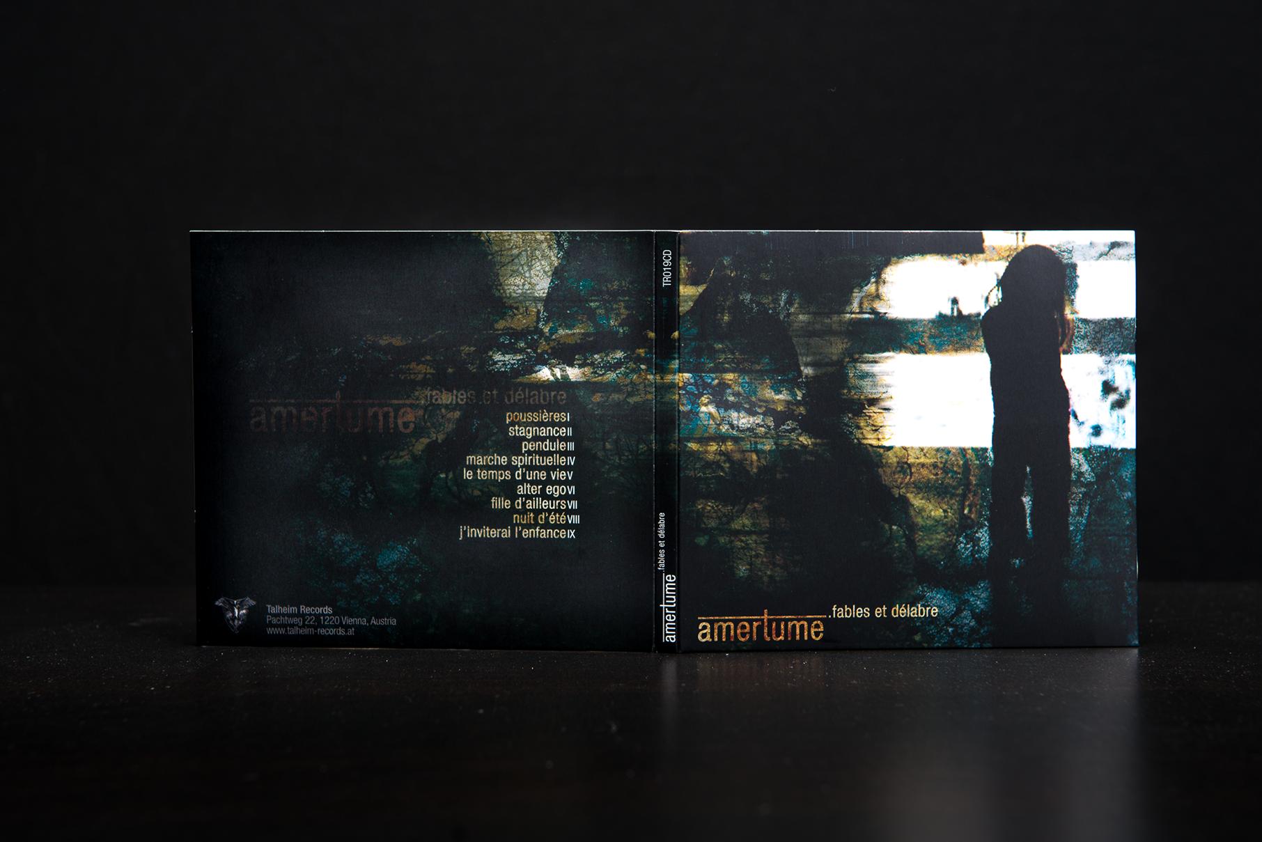 Amertume - Fables Et Délabre CD Digipack
