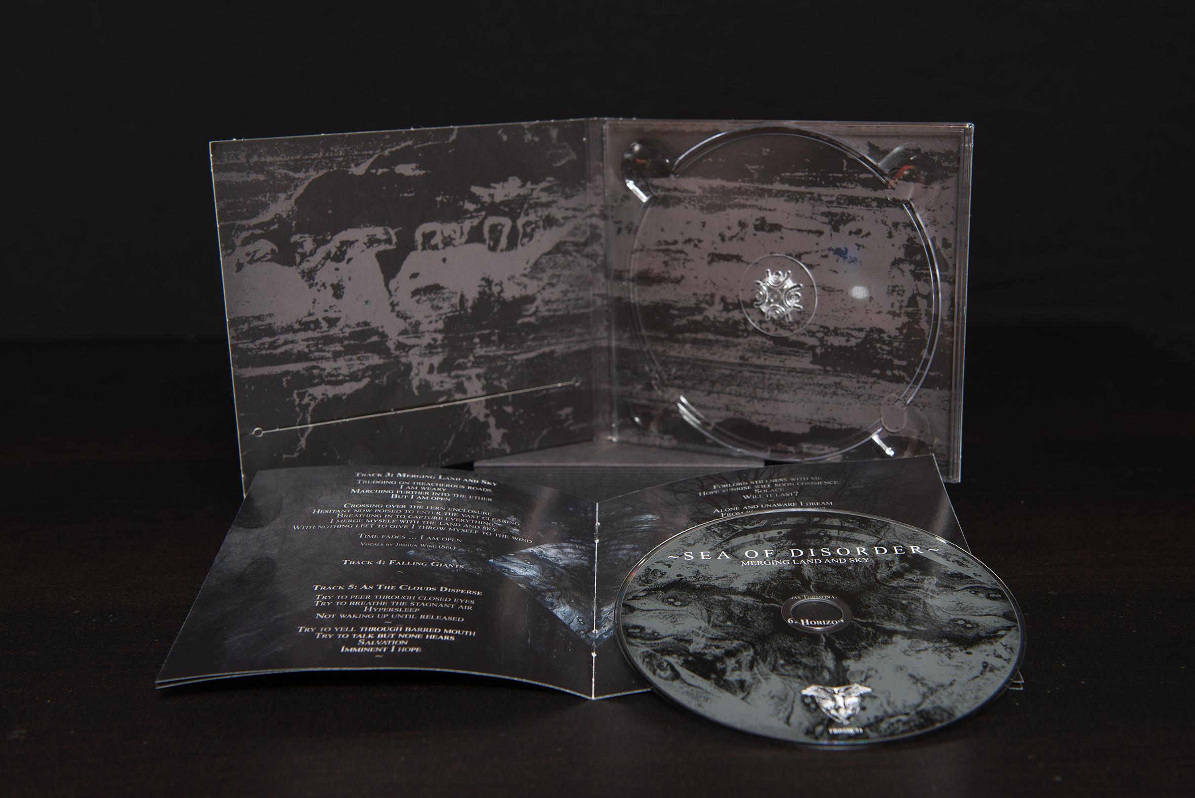 ~Sea Of Disorder~ - Merging Land And Sky CD Digipack